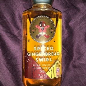 Spiced gingerbread swirl shower gel